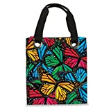 Harold Feinstein Mosaic Butterfly Tote