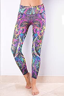 ActiveFit Orion - Women's Workout Exercise Running Yoga Capri Style Pants