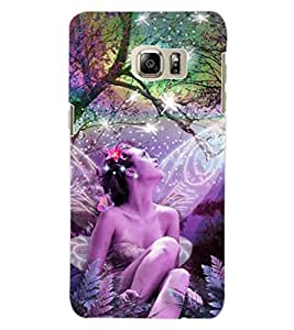 ColourCraft Angel Design Back Case Cover for SAMSUNG GALAXY NOTE 5 EDGE