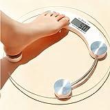 Escala analizador de grasa corporal, Báscula Digital, Cristal endurecido 5-150kg-Báscula digital de precisión skysea para medidas de peso corporal, graba bebé crecer y perder peso