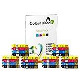 24 XL ColourDirect Compatible Ink Cartridges Replacement For Epson Stylus S22 SX125 SX130 SX230 SX235W SX420W SX425W SX430W SX435W SX438W SX440W SX445W BX305F BX305FW Plus Printers 6 Black 6 Cyan 6 Magenta 6 Yellow
