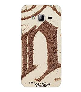 SAMSUNG GALAXY J3 2016 SAND Back Cover by PRINTSWAG