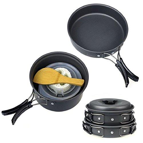 camping-kochgeschirrciaraq-koch-set-besteckkochausrustung-fur-1-2-personen-outdoor-wandern-picknickk