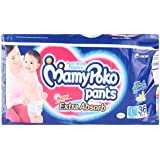 Mamy Poko Pant Style Large Size Diapers (36 Count)