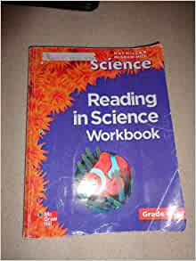 reading in science workbook for macmillan mcgraw hill science grade 4 macmillan mcgraw hill. Black Bedroom Furniture Sets. Home Design Ideas