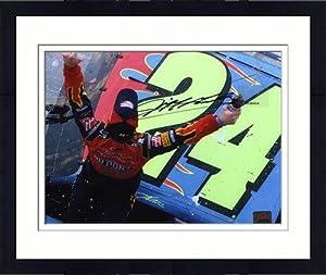 Framed Jeff Gordon Autographed 8