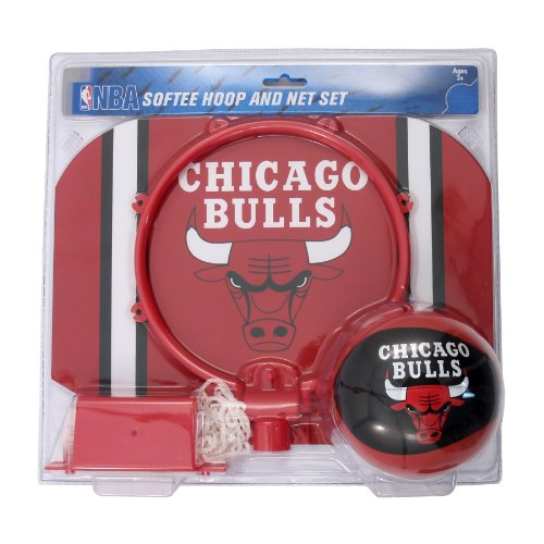 NBA Chicago Bulls Slam Dunk Softee Hoop Set at Amazon.com