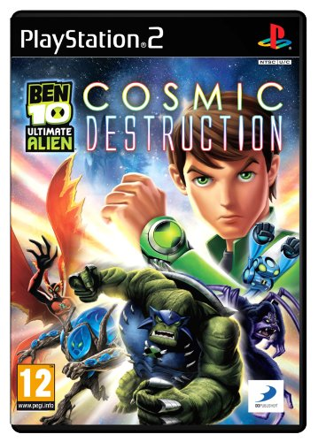 Ben 10 Ultimate Alien: Cosmic Destruction (PS2)