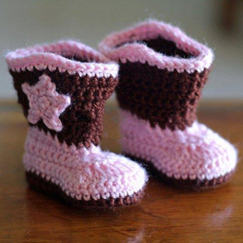 Crochet Baby Cowboy Booties
