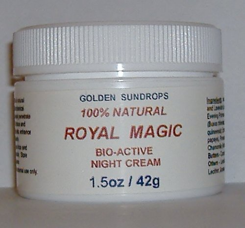 GOLDEN SUNDROPS ROYAL MAGIC BIO-ACTIVE NIGHT CREAM