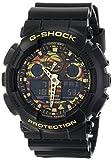 Casio Men's GA-100CF-1A9CR G Shock Analog-Digital Display Quartz Black Watch