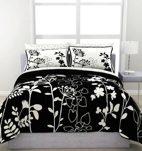Black And White Bed In A Bag Twin front-986591