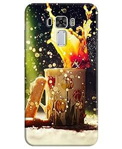 Asus Zenfone 3 Laser Back Cover By FurnishFantasy