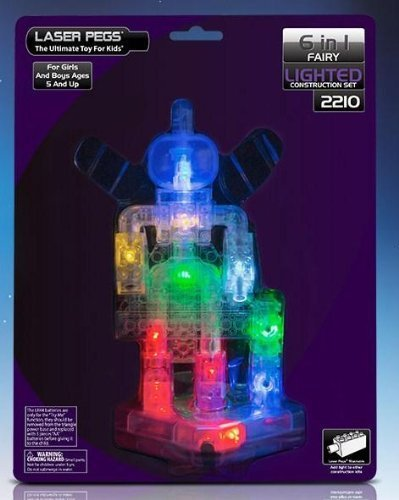 Laser Pegs Lighted Construction Set FAIRY by Laser Pegs Ventures LLC (Laser Pegs Ventures Llc compare prices)