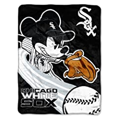 MLB Chicago White Sox 46x60-Inch Micro Raschel Throw by Disney