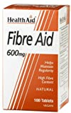HealthAid Fibre Aid 600mg - 100 Vegan Tablets by HealthAid