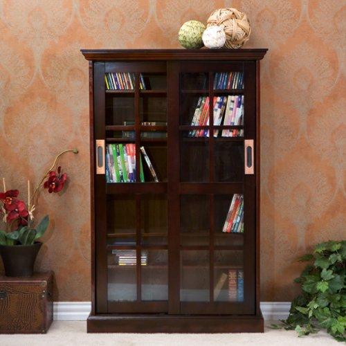 Hagen Media Cabinet - Espresso Southern Enterprises 2 Door Cabinet