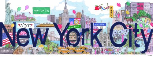 Andrews + Blaine New York City Panoramic Puzzle (1000-Piece)