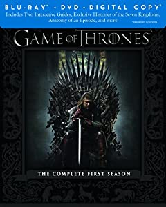 Game of Thrones: The Complete First Season (Blu-ray/DVD Combo + Digital Copy) by HBO Studios