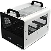 CaseLabs Bullet BH2 MITX Case With Handles And Dual Windows, White