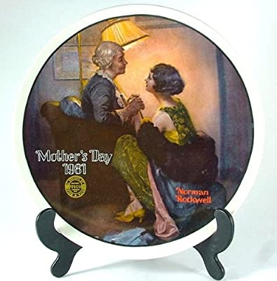 Knowles After the Party Norman Rockwell plate - Mothers Day series - Year 1981 - CP1235