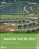 img - for AutoCAD Civil 3D 2012 Essentials by Chappell, Eric [Sybex,2011] (Paperback) book / textbook / text book