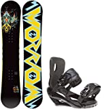 Morrow Truth 155 Mens Snowboard + Sapient Wisdom Black Bindings - Fits Boot Sizes:... by Morrow