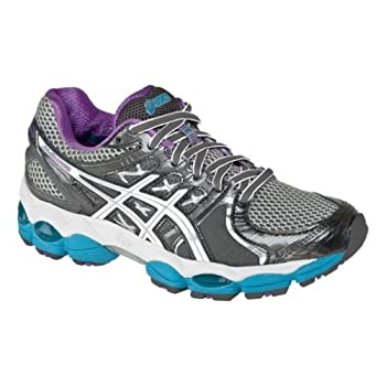 Super light and extra durable, the ASICS GEL-Nimbus 14 running shoe delivers top-notch performance for your training routine. The full-length Guidance Line provides smooth transitions and increases efficiency; gender-specific forefoot cushioning lend...