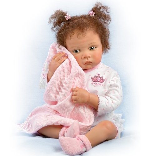 "Waltraud Hanl Sweet Princess: 26"" Hold That Pose Baby Doll By Ashton Drake"