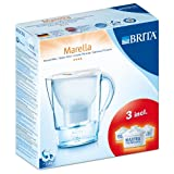 Brita Marella Cool Starter Pack includes 3 Cartridges, Whiteby BRITA