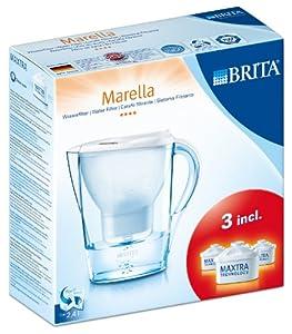 Brita 040 147 Pack de démarrage Marella Cool Blanc