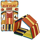 Assorted Wooden Flip Klik Klak JACOB'S LADDER toy flipping Game