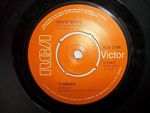 David Bowie - Starman / Suffragette City 7