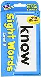 Trend Enterprises Sight Words Level B Pocket Flash Cards