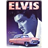 "The Original Metal Sign Co. - Blechschild L10966 - Elvis Pink Cadillacvon ""Decoworld"""