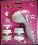 Tiny Deal 5-In-1 Smoothing Body Face Beauty Care Facial Massager
