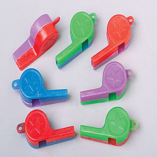 Two Color Whistles
