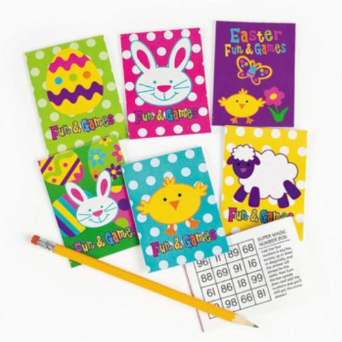 Easter Fun And Game Book Case Pack 72