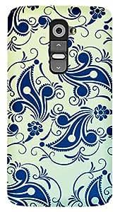 TrilMil Premium Design Back Cover Case For LG G2