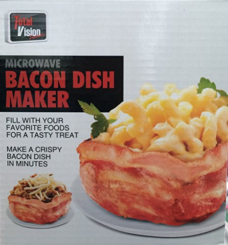Microwave Bacon Dish Bacon Bowl Maker (1 Pack)