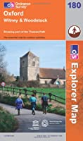 Oxford, Witney and Woodstock (OS Explorer Map)