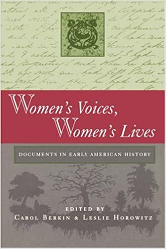Women's Voices, Women's Lives: Documents in Early American History written by Carol Berkin