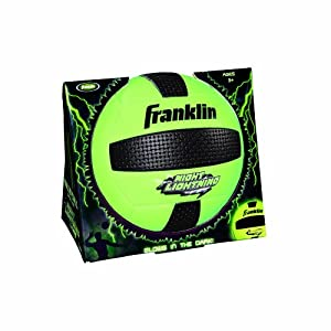 Buy Franklin Sports Night Lightning Volleyball (Official Size) by Franklin