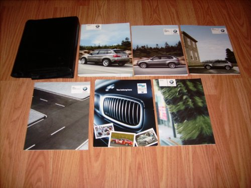 2007 BMW X5 Owners Manual with Nav. Sec. (2007 Bmw X5 Owners Manual compare prices)