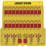 Master Lock 20 Pack Lockout Station with Cover
