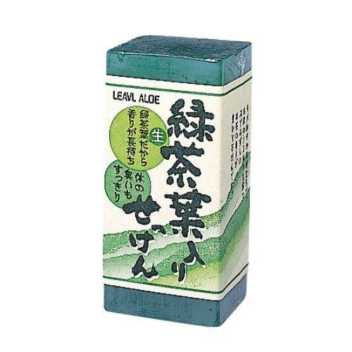 フタバ化学 生緑茶葉入り石鹸 170g