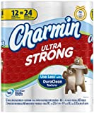 Charmin Ultra Strong Toilet Paper 12 Double Rolls = 24 Regular Rolls