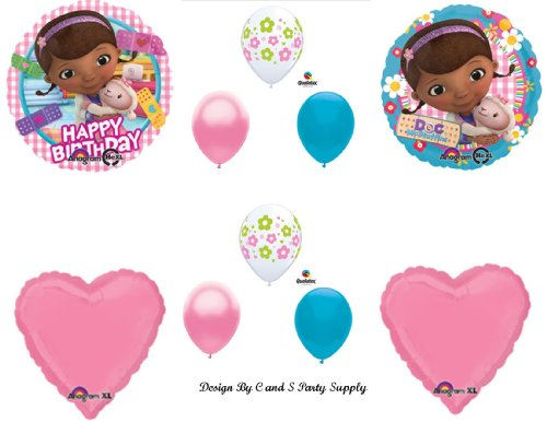 Doc McStuffins Happy Birthday PARTY Balloons Decorations Supplies