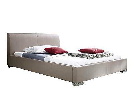 sette notti Bett 100x200 Muddy, Polsterbett mit Kunstlederbezug, Liegefläche 100 x 200 cm, Art Nr. 353-10-10080