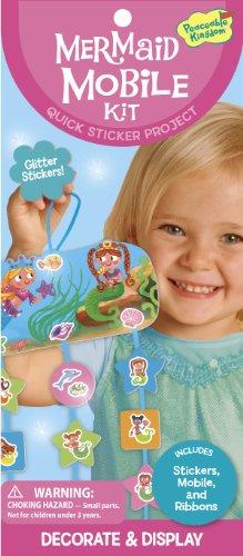 Peaceable Kingdom 04497 - Unterwasser-Mobile Sticker Set